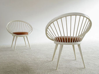 FURNITURE-LOVE.COM - pair of decorative side chairs ekstrom - Fauteuil