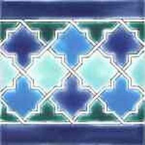 Diffusion Ceramique - malaga border - Carrelage Mural