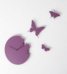 DIAMANTINI & DOMENICONI - butterfly - Horloge Murale