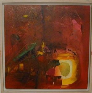 www.maconochie-art.com - jungle - Huile Sur Toile Et Huile Sur Panneau