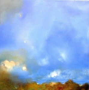 www.maconochie-art.com - through the trees - Huile Sur Toile Et Huile Sur Panneau