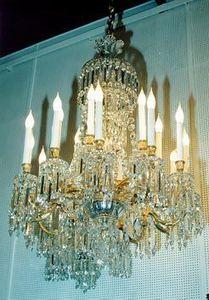 Berman Freres - lustre en cristal baccarat - Lustre