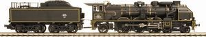 frantic - pacific 231 chapelon version noire - Train Miniature