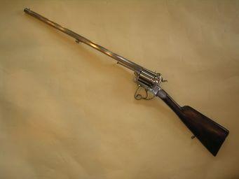 Aux Armes d'Antan - carabine barillet à broche - Carabine Et Fusil