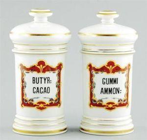Jacque's Antiques -  - Pot À Pharmacie