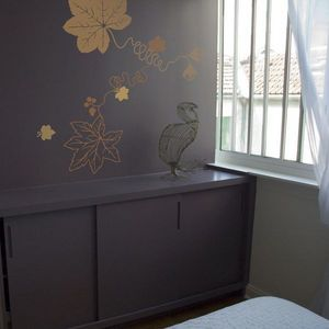 Walldesign - fil de feuilles - Sticker