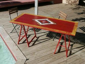 Atelier Christine -  - Table De Jardin