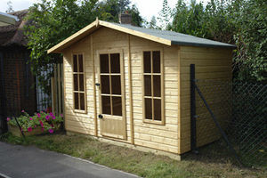 Sun & Shade - play and storage chalet - Cabane