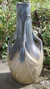 Antiquité Bosetti - grès denbac - Vase À Fleurs