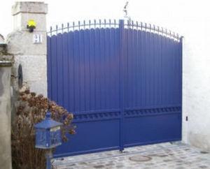 Cadiou Industrie - lanveoc - Portail De Jardin