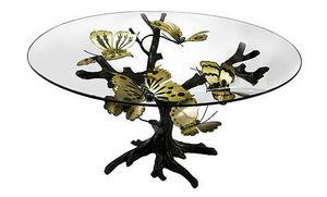 JOY DE ROHAN CHABOT - l'arbre � papillons - Table De Repas Ronde