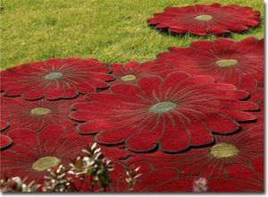 PIODAO - flowers - Tapis Contemporain