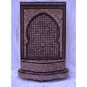 Habibi Moroccan -  - Fontaine Murale D'extérieur
