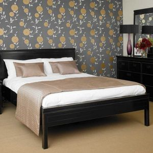 4 Living Furniture - oriental bed - Lit Double