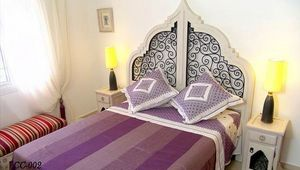 Decoracion Andalusia - muebles dormitorio - Lit Double
