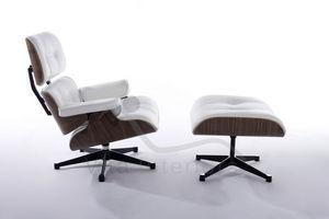 VITA INTERIORS - lounge chair & ottoman - Fauteuil Et Pouf