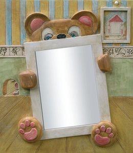Miroirs et trumeaux Daniel Mourre - nounours - Miroir Enfant