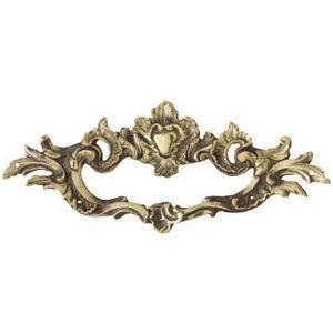 FERRURES ET PATINES - poignee de meuble en bronze style regance pour com - Poign�e De Meuble