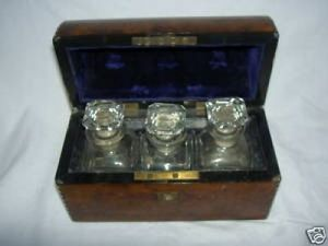 Art & Antiques - cave � parfums �poque napol�on iii - Coffret � Parfum