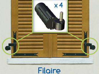 Wimove - kit double motorisation volets battants wibat fila - Automatisme Et Motorisation Pour Volet