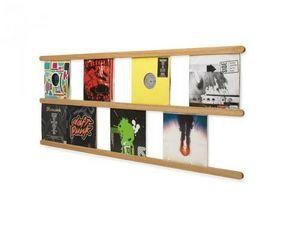 L'EDITO - Meubles sur Mesure - étagère range vinyl record collector - Meuble De Libraire