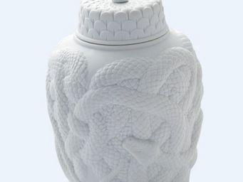 Haviland - serpent - Vase Couvert