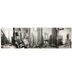 Maisons du monde - kit 5 toiles n-y streets - Photographie