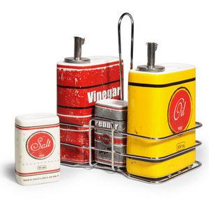 Maisons du monde - porte condiments vintage - Set À Condiments