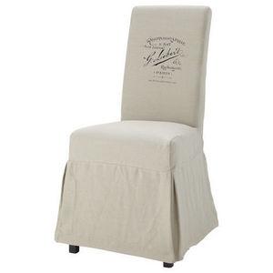Maisons du monde - housse de chaise margaux antan - Housse De Chaise