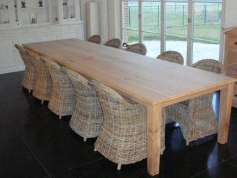 Antiek-Bouw -  - Table De Repas Rectangulaire