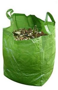 Idees B Creation - sac � v�g�taux eco 220 litres en toile polypropyl� - Sac � Herbe