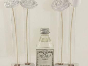 Le Pere Pelletier - diffuseur bouquet de fleurs senteur fleurs d'oran - Diffuseur De Parfum Par Capillarit�