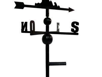BARCLER - girouette mouette en fer forgé 91x47x47cm - Girouette