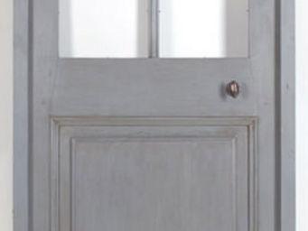 Portes Anciennes - modèle vitrée surbaissée peinte - Porte De Communication Vitrée