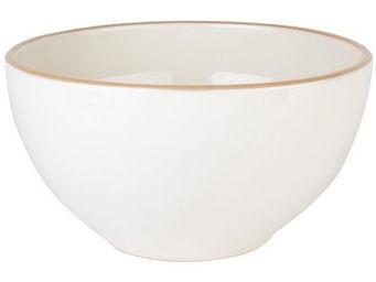 Athezza - saladier gm astrid blanc d27xh14,5cm - Tian