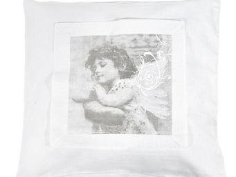 Mathilde M - coussin carrés d'anges mon ange - Coussin Enfant