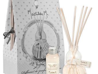 Mathilde M - diffuseur verre souffl�, parfum brin de lavande - Diffuseur De Parfum