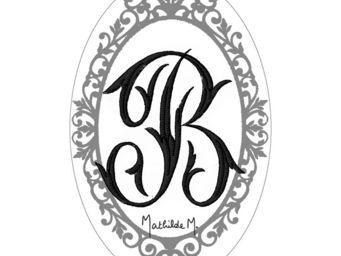 Mathilde M - savon alphabet monogramme b - Savon