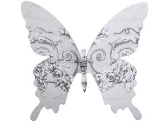 Mathilde M - papillon � pince guirlande - D�cor �v�nementiel