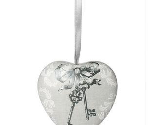 Mathilde M - cur d�coratif les clefs du paradis - Coeur