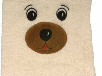 SIRETEX - SENSEI - gant de toilette enfant en forme d'ours - Gant De Toilette