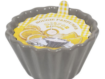 Orval Creations - bougie charlotte parfum�e citron meringu� - Bougie Parfum�e