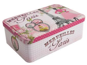 Orval Creations - bo�te � sucre merveilles de paris - Bo�te � Caf�