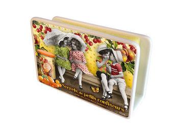 Orval Creations - cache-�ponges petits confiseurs - Porte �ponge