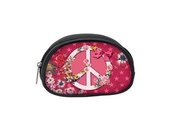 Orval Creations - peace & love pochette lola - Porte Monnaie Enfant