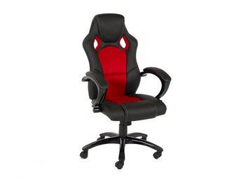 ACHATDESIGN - chaise de bureau speedy rouge - Chaise De Bureau