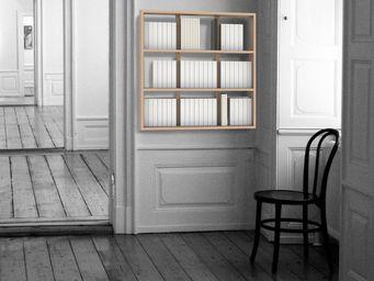MALHERBE EDITION - biblioth�que wall book suspendue - Biblioth�que Modulable