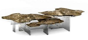BOCA DO LOBO - monet - Table Basse Forme Originale