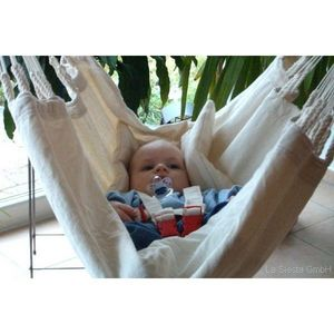 La Siesta - hamac bebe yayita coton biologique la siesta - Hamac Pour B�b�