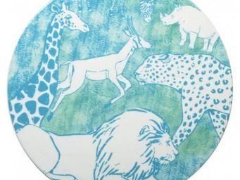 La Chaise Longue - plat a gateau savannah dia 30 cm - Dessous De Plat
